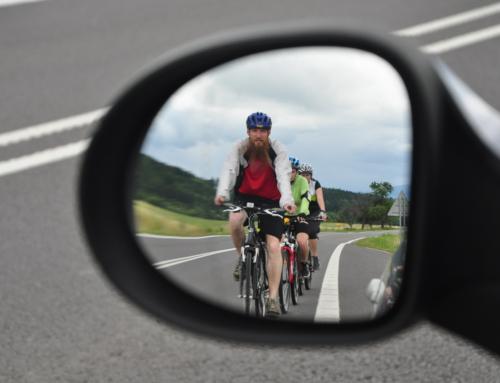 Bicyklom na P18