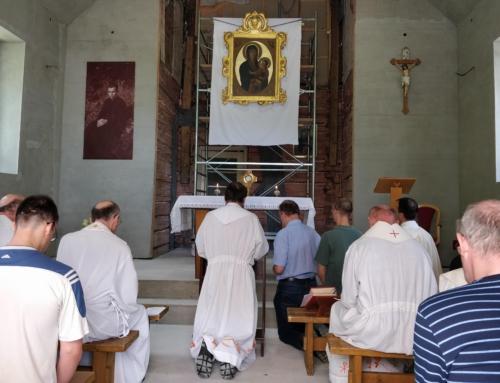 Púť jezuitov za povolania