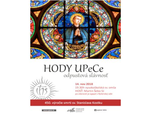 Pozývame Vás na HODY UPeCe