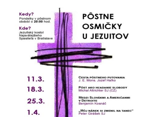 PÔSTNE OSMIČKY U JEZUITOV
