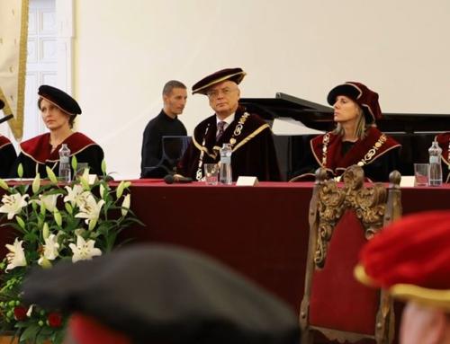 Nový dekan Teologickej fakulty TU – Páter Dolinský SJ a nový prorektor TU – Páter Lichner SJ