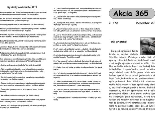 Akcia 365 na December 2019
