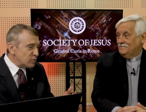 P. Generál hovoril k jezuitom a spolupracovníkom