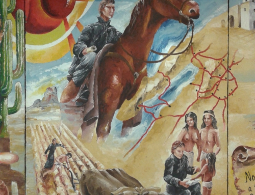 P. Eusebio Francesco Chini, misionár na koni