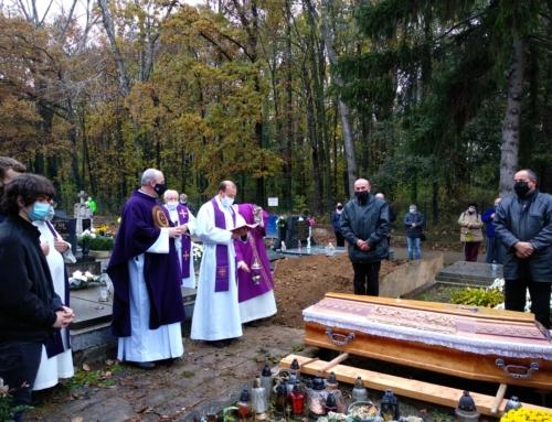 Posledná rozlúčka brata Antona Štyráka SJ