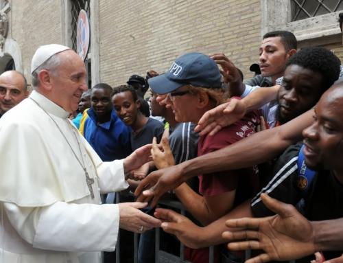 Pápež blahoželal k výročiu Jezuitskej služby utečencom