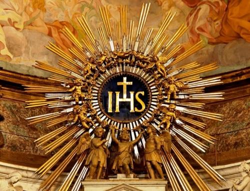 Najsvätejšie meno Ježiš – dar pre Spoločnosť Ježišovu