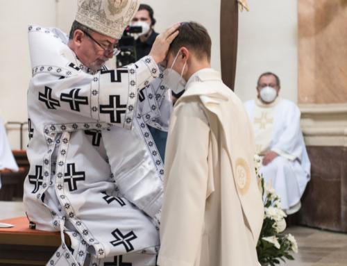 Novokňaz Martin Benko SJ, foto z vysviacky